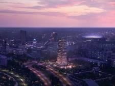 Bouw van de Bunkertoren in Eindhoven van start: 'iconisch' gebouw van 100 meter hoog