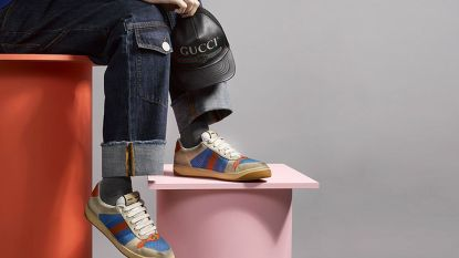 Nieuwe Gucci-schoenen zijn vuile afgetrapte sneakers... die 690 euro kosten