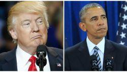 Zo verschillend reageerden Trump en Obama op aanslag Londen