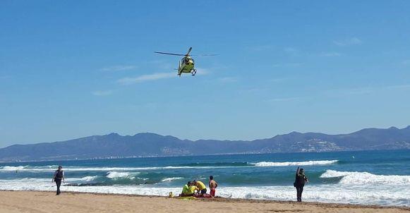 De vijftiger overleed op het strand van Del Riuet in het Spaanse L'Escala.