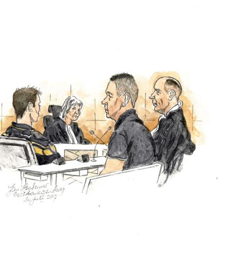 Justitie eist zes jaar tegen Cor B. voor overvallen