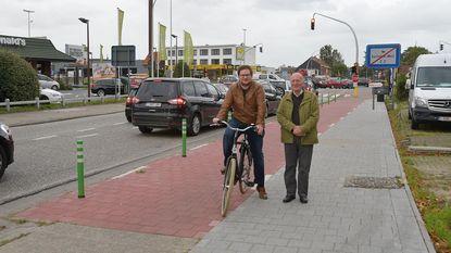 Gloednieuw en veiliger fiets- en voetpad in Cleydaellaan