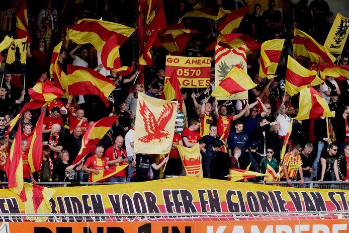supporters van Go Ahead Eagles