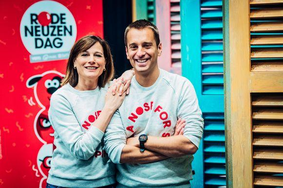 Birgit Van Mol en Sam De Bruyn.