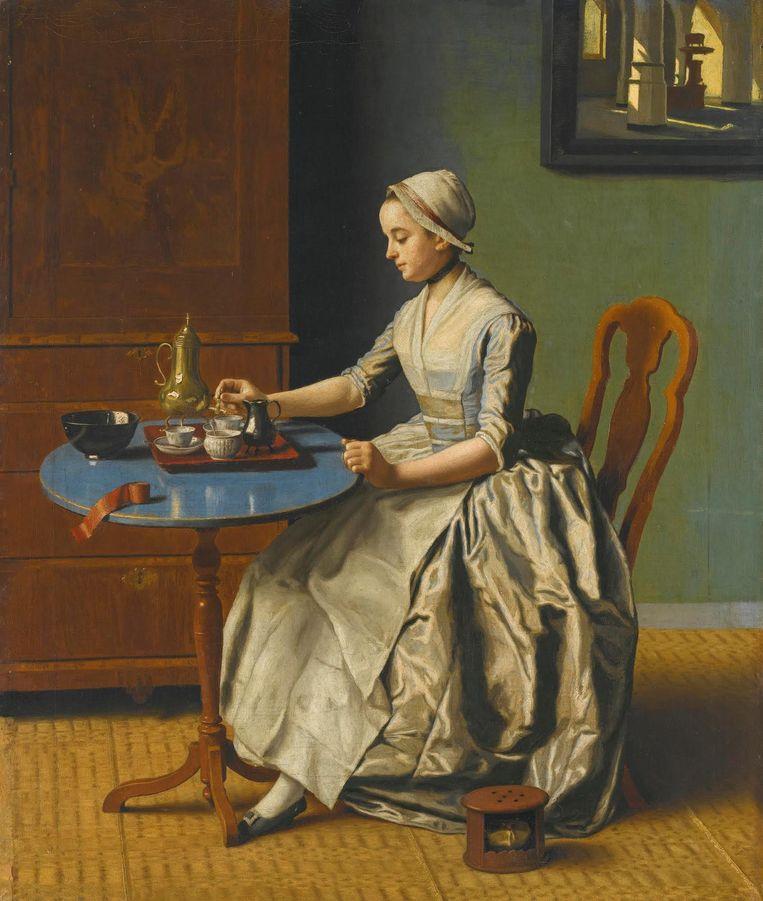 Het heeft twee jaar geduurd voordat het Rijksmuseum het schilderij kon kopen. Beeld anp