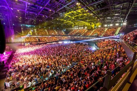 Een volgepakt Ahoy. In mei zal het negen keer raak zijn tijdens het Eurovisie Songfestival.