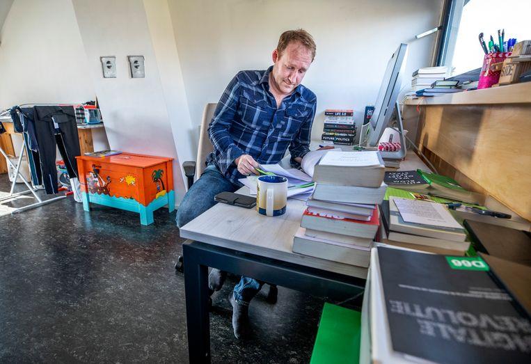 Kees Verhoeven (D66) Beeld Foto Raymond Rutting / de Volkskrant