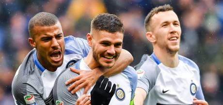 Icardi wijst Inter met vier goals weg naar Champions League
