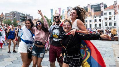 Eerst bezoekje aan de kathedraal, dan uit de bol aan het MAS: 4.000 festivalgangers Tomorrowland zetten feestje al in