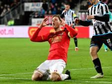 Wout Weghorst scoorde in alle duels tegen Heracles
