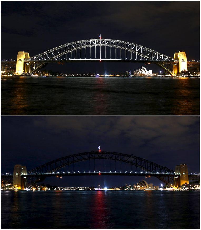 2016, Earth Hour in Sydney waar het ooit allemaal begon.