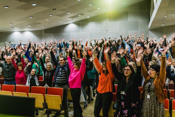 Tijdens de actie 'Blind Gedropt' spanden talloze Hasselaren zich afgelopen jaar nog in voor vrijwilligerswerk.