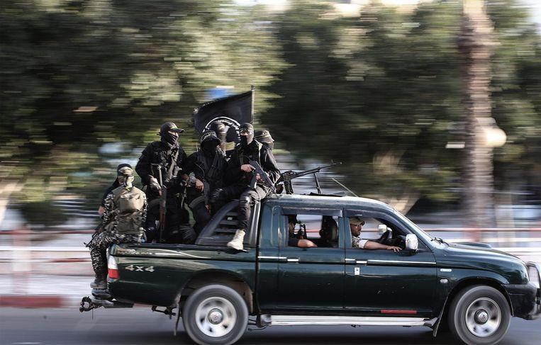 Strijders van Islamitische Staat Beeld epa
