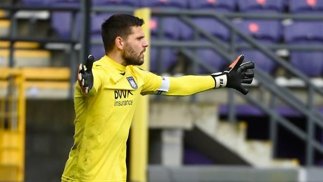 Anderlecht ook in topper tegen Standard nog zonder Hendrik Van Crombrugge