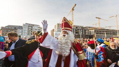 Sinterklaas loopt Sint-Maarten voor de voeten