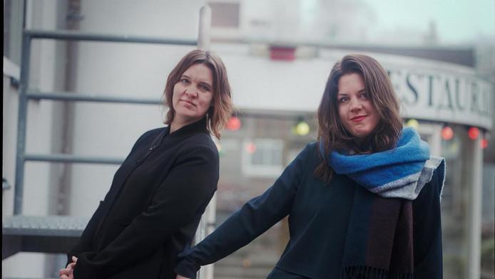 Artistiek leider Marijke Schermer en zakelijk leider Anne Houwing