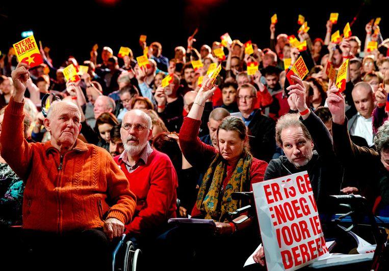 Het SP-partijcongres. Beeld anp