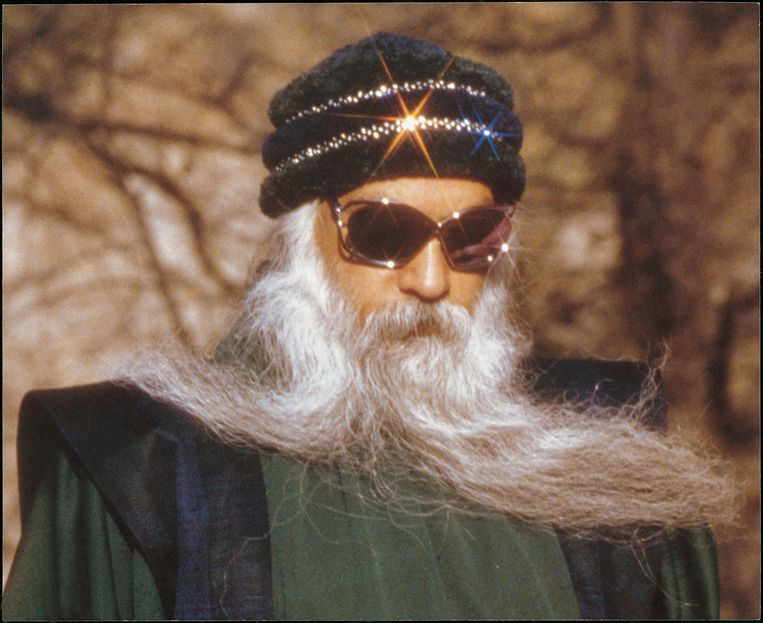 Bhagwan Shree Rajneesh, jaartal onbekend Beeld OSHOphotos.com