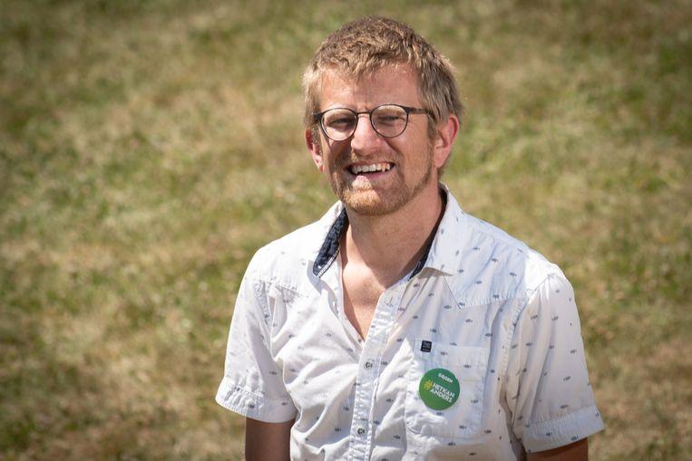 Groen-gemeenteraadslid Lech Schelfout.