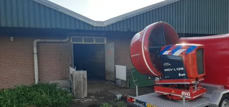 Schade na brand in varkenshouderij blijft beperkt: 'We denken aan kortsluiting'