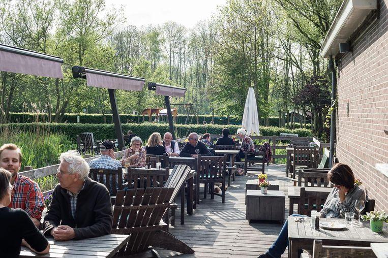 Boerderij Langerlust is een idyllisch plekje Beeld Mats van Soolingen