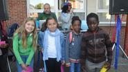 Leerlingen basisschool Atheneum zetten schooljaar feestend in