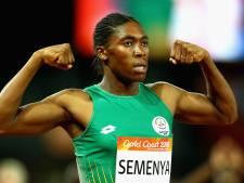Alleen met pillen blijft Semenya vrouw