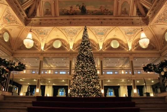 Kerst in het Kurhaus