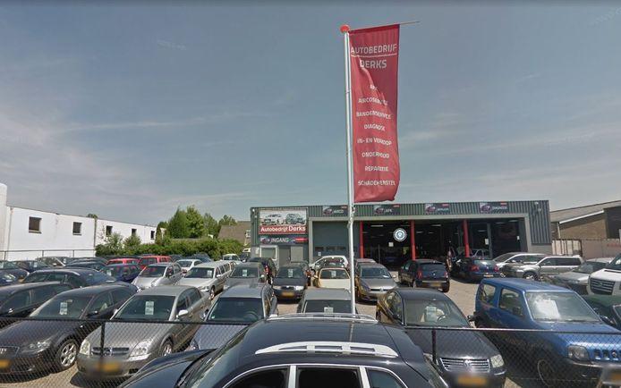 Autobedrijf Derks in Malden.