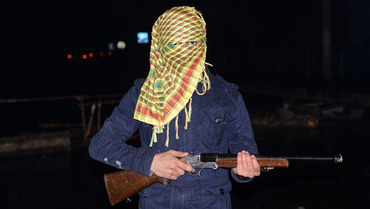 Een lid van de PKK.