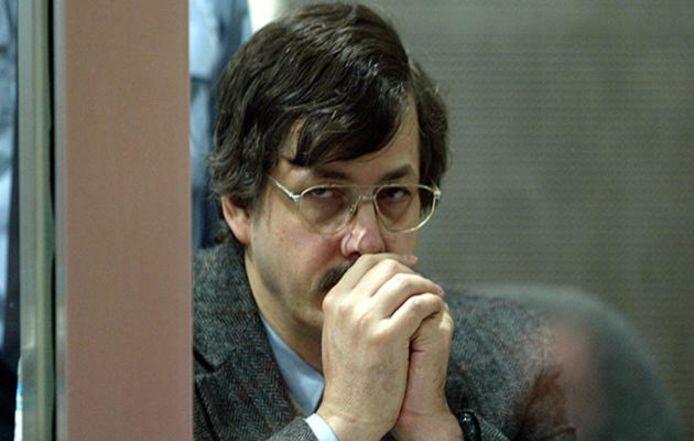 Marc Dutroux lors de son procès à Arlon, en 2004.