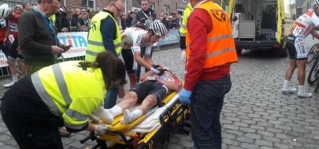 Ploeggenoot Van der Poel: Hij lag te kermen van de pijn