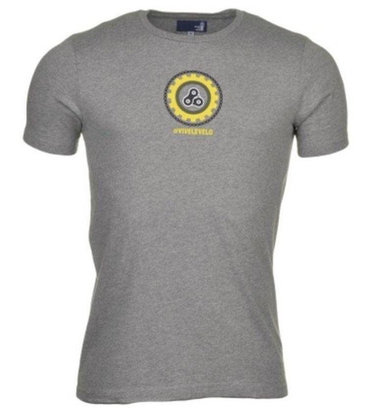 Inzet: de T-shirts van Vive le Vélo.