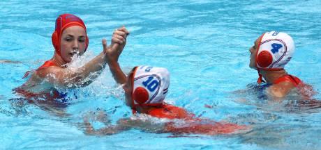Waterpolosters naar kwartfinale van WK
