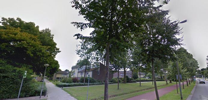 Deel van de wijk de Haren waar Zayaz vanaf 2021 fors wil verbouwen.