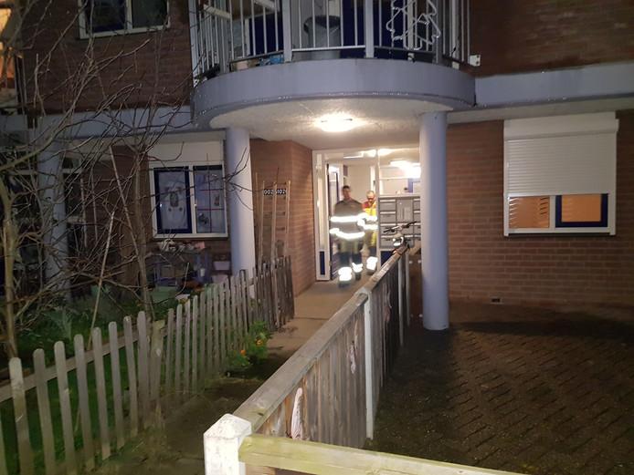 Wateroverlast in Wijchen.