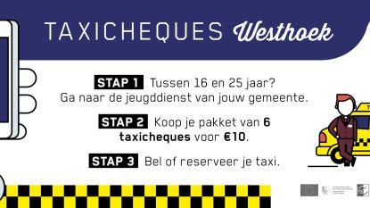 Taxicheques voor jongeren verlopen op 1 september