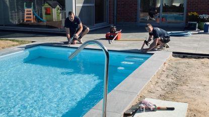 """Zwembadbouwers kunnen aanvragen niet volgen: """"Een zwembad in je tuin? Ten vroegste dit najaar"""""""