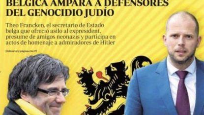 """Spaanse krant : """"Vlaams-nationalisten met heimwee naar Hitler beschermen Puigdemont"""""""
