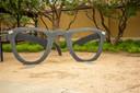 De bril van Buddy Holly.