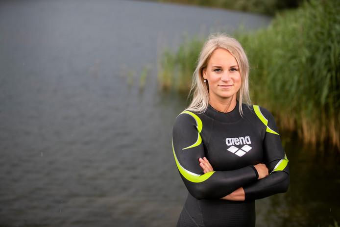 Marloes Nijhuis gaat meezwemmen met Maarten van der Weijden.