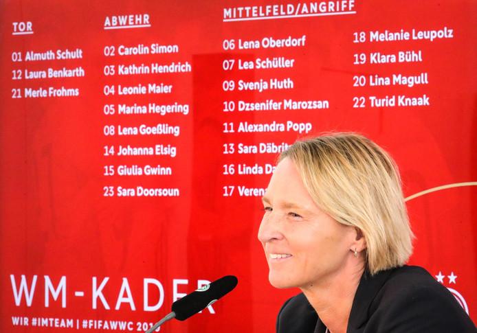 La sélectionneuse allemande Martina Voss-Tecklenburg