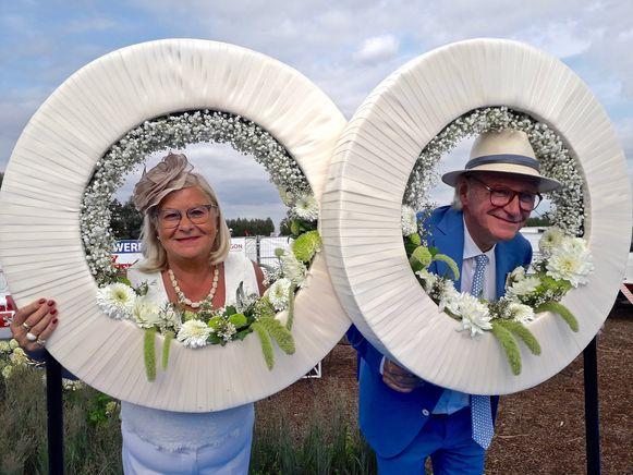 Willy Naessens en zijn Marie-Jeanne, vorig jaar op Waregem Koerse.