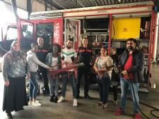 Inburgeraars krijgen meeloopdag bij de Brandweer