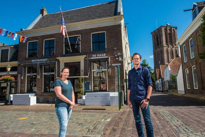 Mathilde en Gerrit-Jan Vos vertelden daags voor het faillissement van De Haas hoe het bedrijf ten onder ging door de coronacrisis. Sinds medio maart kwam er geen klant meer over de drempel.