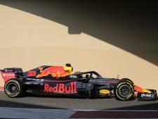 Verstappen rijdt laatste rondjes in RB14 tijdens testdag
