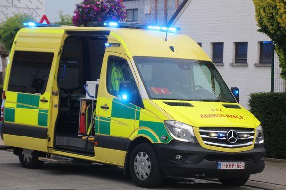 Ziekenwagen ambulance.