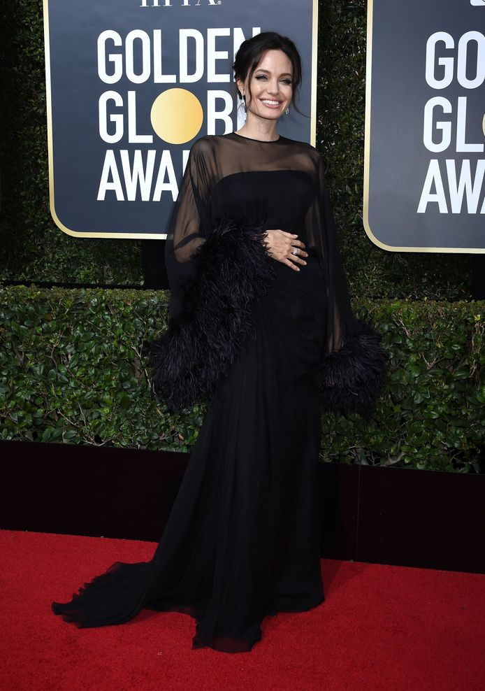 The 75th Golden Globe Awards,  Angelina Jolie