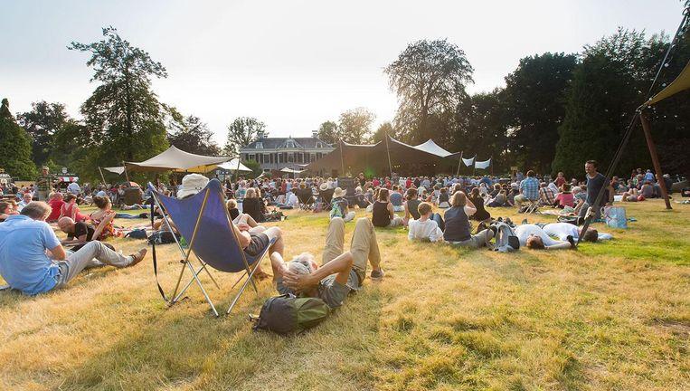 Luisteren naar klassieke muziek in een natuurgebied kan dit weekend tijdens festival Wonderfeel. Beeld Juri Hiensch