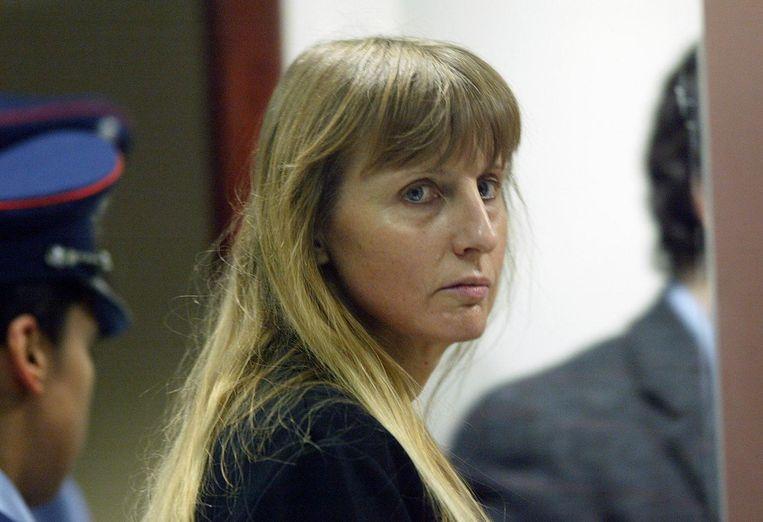 Michelle Martin tijdens het proces.